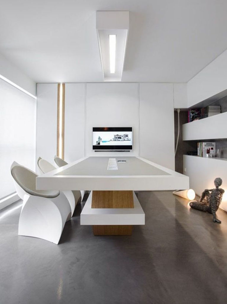 6 Designs Inspirations for Minimalist Office To Gain Productivity