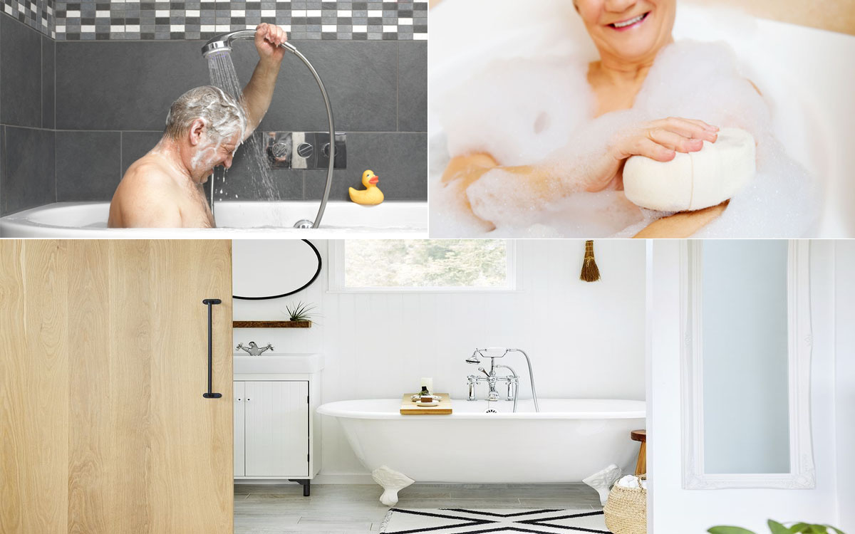 For Caregivers: Clean Up and Bathing Tips for Seniors to Improve Their Comfort