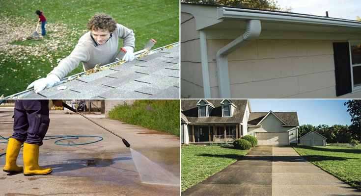2 Area of Focus for Exterior Cleaning