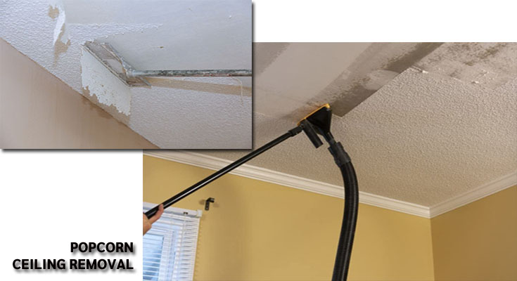 Moving into An Old House? Dial in Popcorn Removal Service for Your Good Health